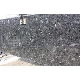 Гранитные слябы BLACK ICE Лабродарит Неверовское